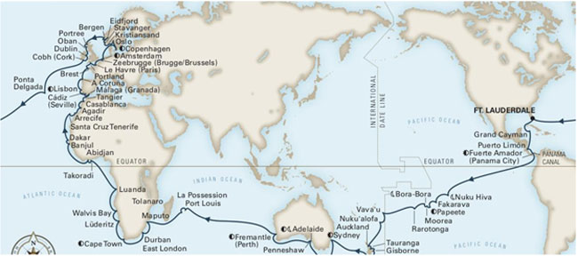 Holland America's 2022 World Cruise is Now Available to Book
