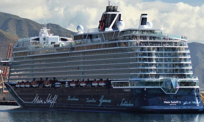 TUI's Mein Schiff 2 is First Large Cruise Ship to Set Sail Since Coronavirus