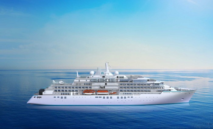 2023 Itineraries Revealed for the Crystal Serenity