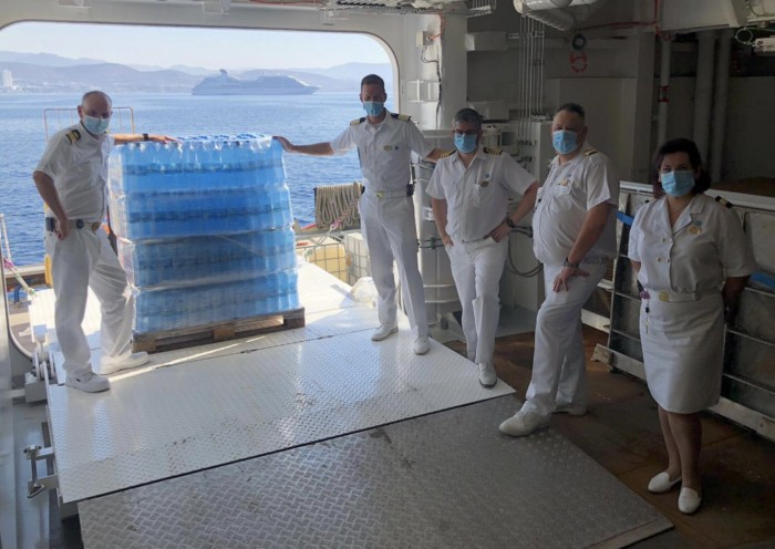 Princess Cruises Lends a Hand in Cyprus