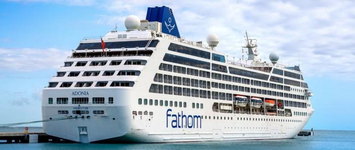 Sailing on Fathom Adonia