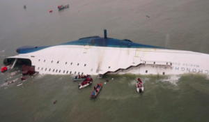 South Korean Shipwreck