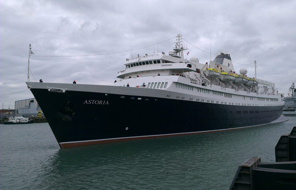 Three Facts about MV Astoria, the Oldest Cruise Ship in the World