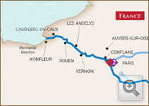 Ama Waterways Paris & Normandy Art-Themed Cruise