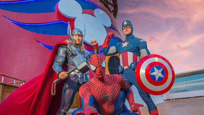 Take the Kids on a Disney Marvel at Sea Adventure
