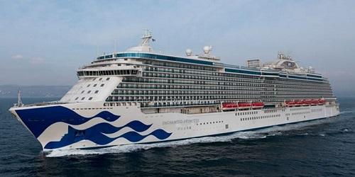 Princess Cruises' Newest Ship, Enchanted Princess, Has Been Delivered
