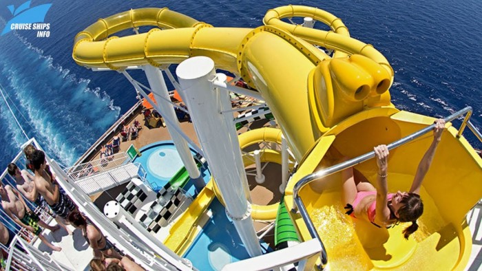 The Coolest Water Slides on Cruise Ships!