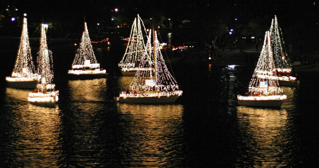San Diego Holiday Lights Cruises
