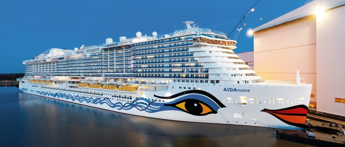 A Look at AIDAnova, the World's First LNG-Powered Cruise Ship Inbox