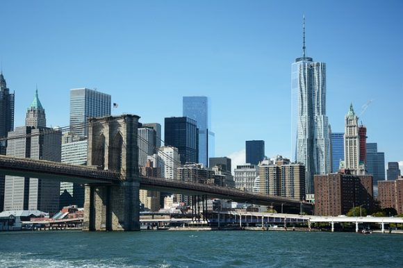 Cruise ship visitors can tour New York City by ferry.