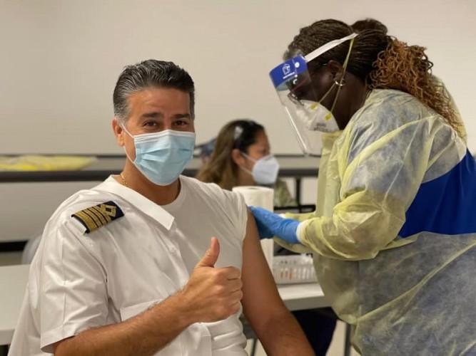 Cruise Lines Begin Crew Vaccinations