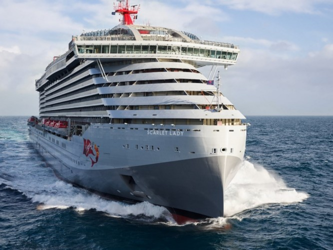 Take a Look at Virgin Voyages' Ship, Scarlet Lady