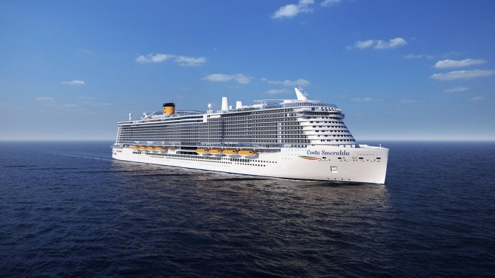Costa Cruises Acquires Smeralda, a Liquefied Natural Gas Powered Ship