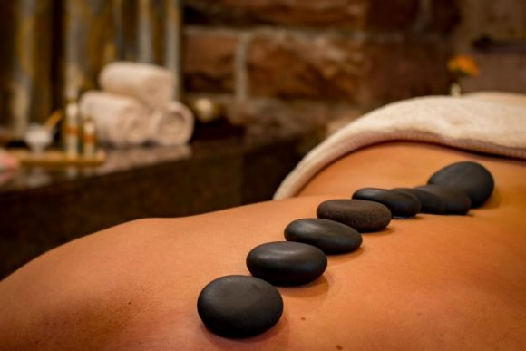 hot stone spa treatment
