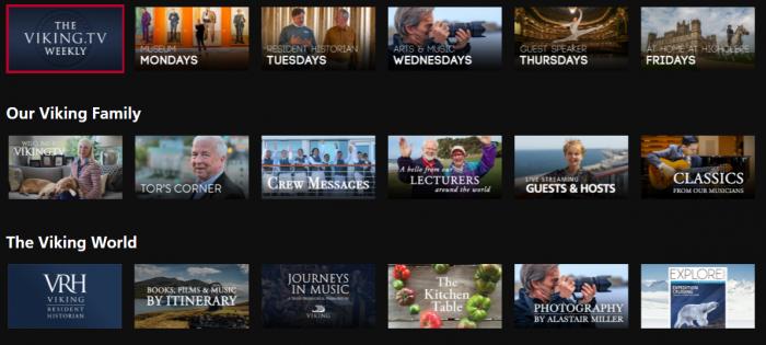 Viking Launches Viking.TV for Your Quarantine Entertainment